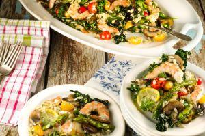 Shrimp and Kale Salad Recipe