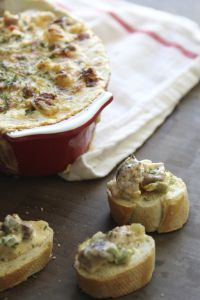 Warm and Spicy Gumbo Dip