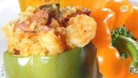 Seafood Stuffed Peppers