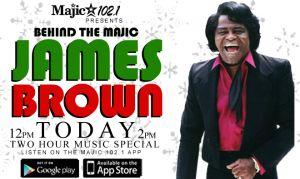 Behind The Majic James Brown