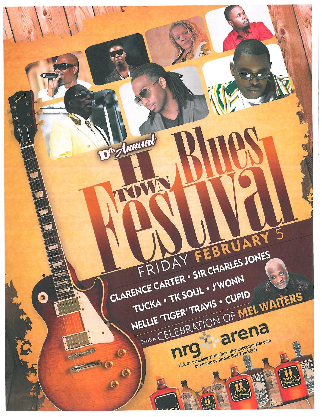 2016 H-Town Blues Festival