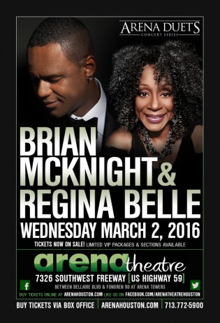 2016 Brian McKnight & Regina Belle at the Arena Theatre Houston