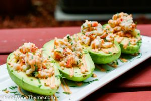 Crab Meat & Shrimp Stuffed Avocados