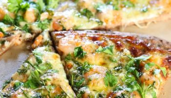 Shrimp Scampi Pizza Recipe