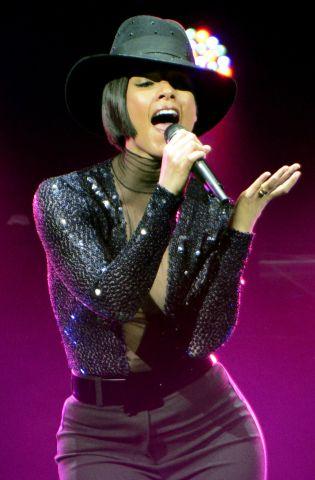 Alicia Keys In Concert - Houston, TX