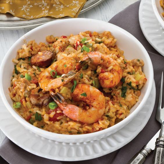 Chicken, Andouille, and Shrimp Jambalaya Recipe | Majic 102.1