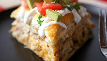 Easy Chicken Tortilla Casserole