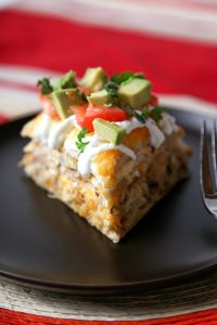 Easy Chicken Tortilla Casserole
