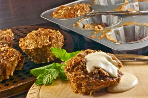 Rum-Soake Coconut Bread Pudding