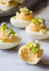 Buffalo Ranch Deviled Eggs Recipe
