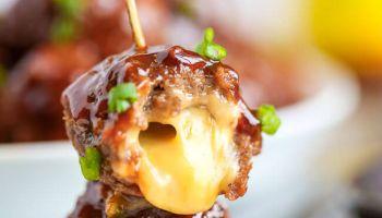 Cheese Stuff Meatballs