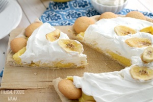 Banana Pudding Dessert Pizza