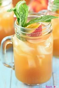 Mint Peach Tea Punch