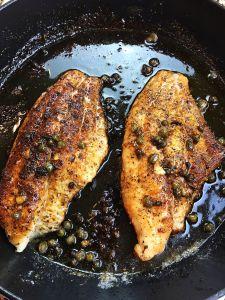 Caper & Lime Catfish