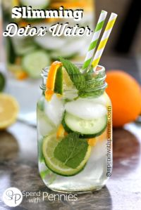 Slimming Detox Water