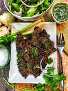 Grilled Argentinian Steak Salad