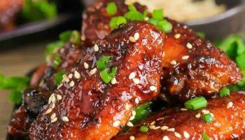 Sticky Hot Chicken Wings
