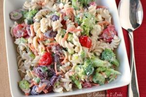 Creamy Feta Pasta Salad