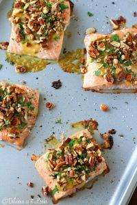 Dijon Pecan Salmon