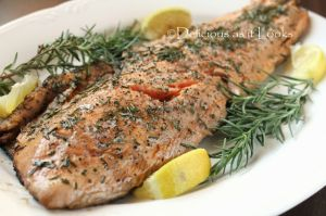 Grilled Rosemary Salmon
