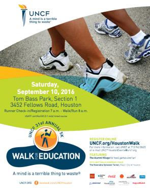 2016 Houston Walk For Education