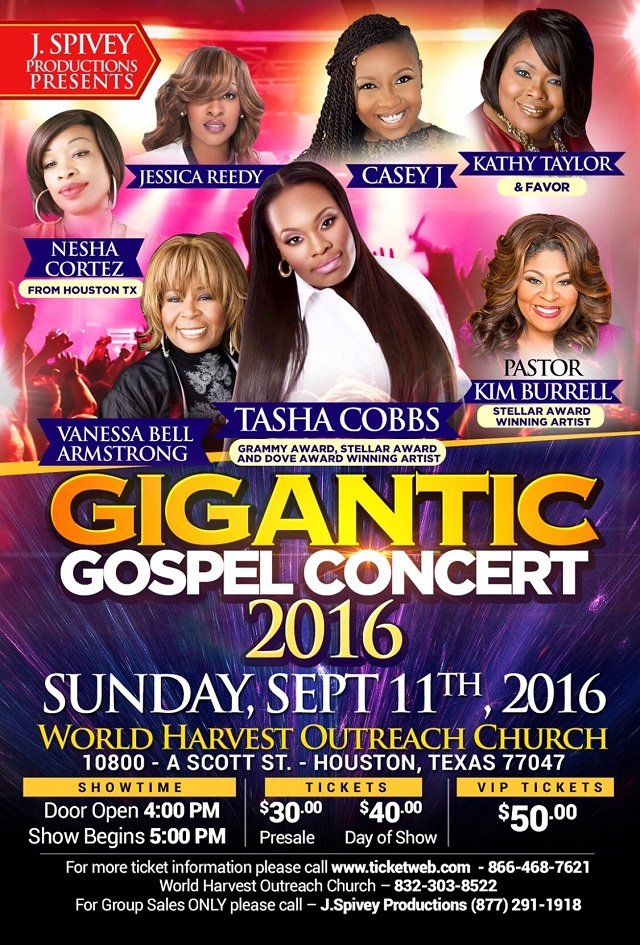 Gigantic Gospel 2016