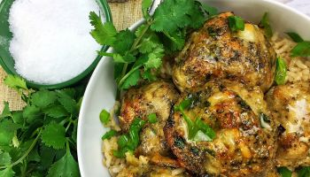 Chicken & Parmesan Meatballs