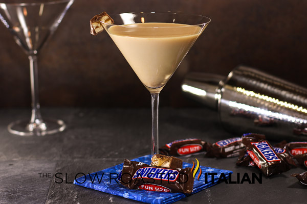 Snickers Martini Cocktail