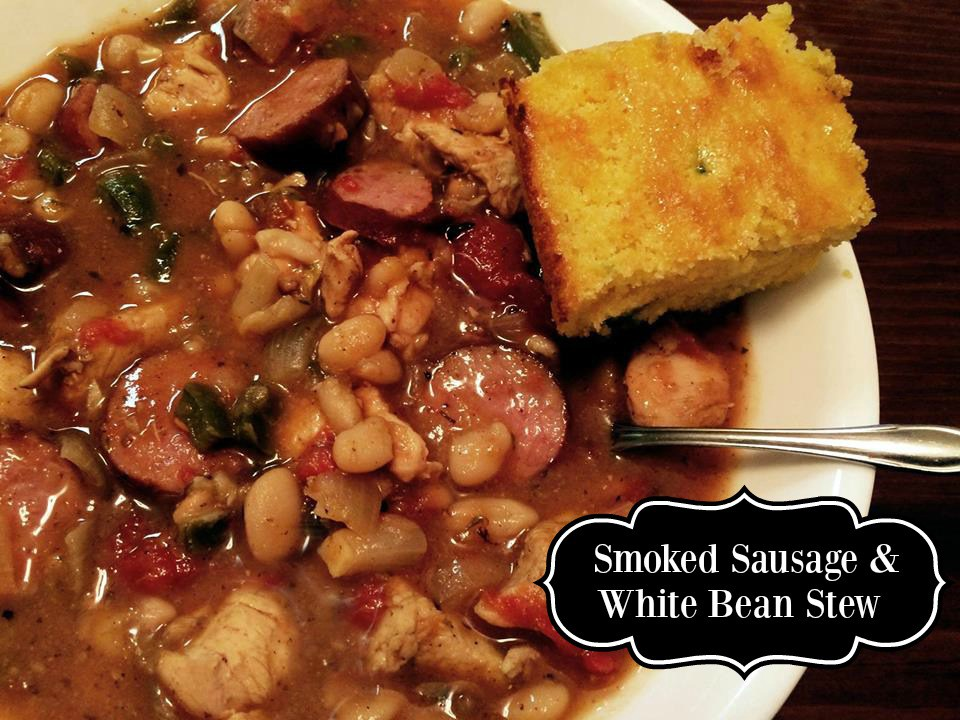 Smoked Sausage & White Bean Stew