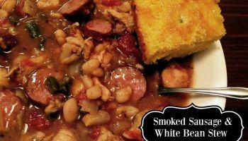 Smoked Sausage & White Bean Stew