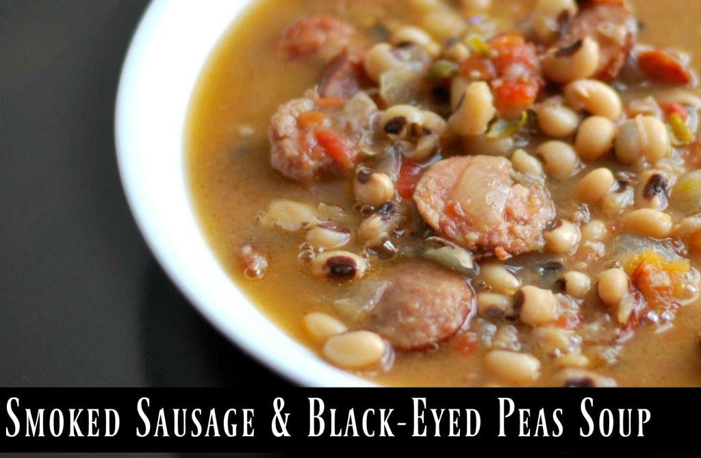 Smoked Sausage & Black-Eyed Pea Soup