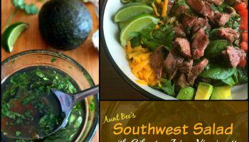 Southwest Salad with Cilantro-Lime Vinaigrette