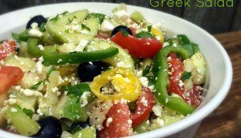 'Country' Greek Salad