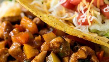 Confetti Chicken Tacos