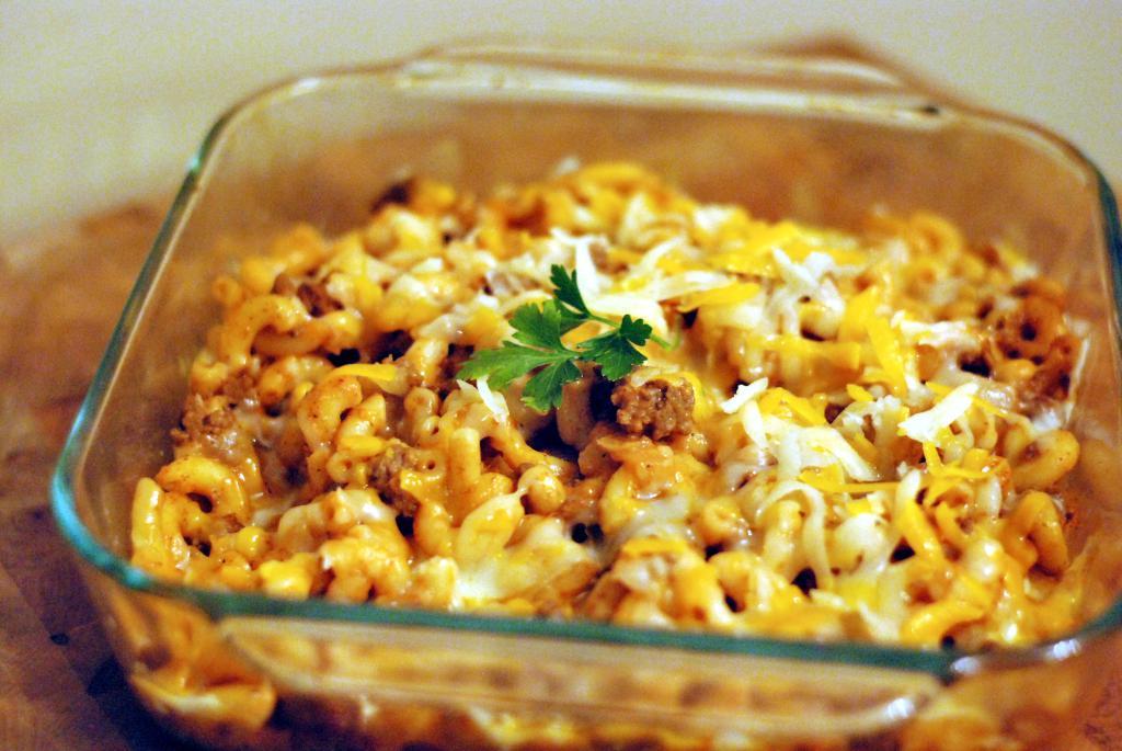 Preacher's Macaroni Casserole