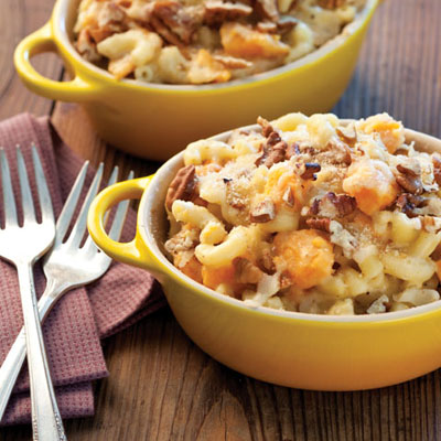 Cheesy Sweet Potato Mac