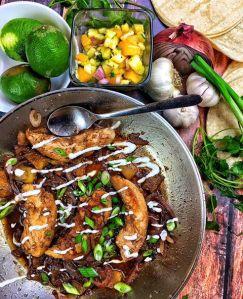 Jerk Chicken Fajitas