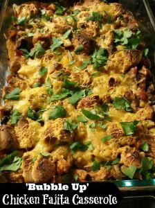 Chicken Fajita Casserole