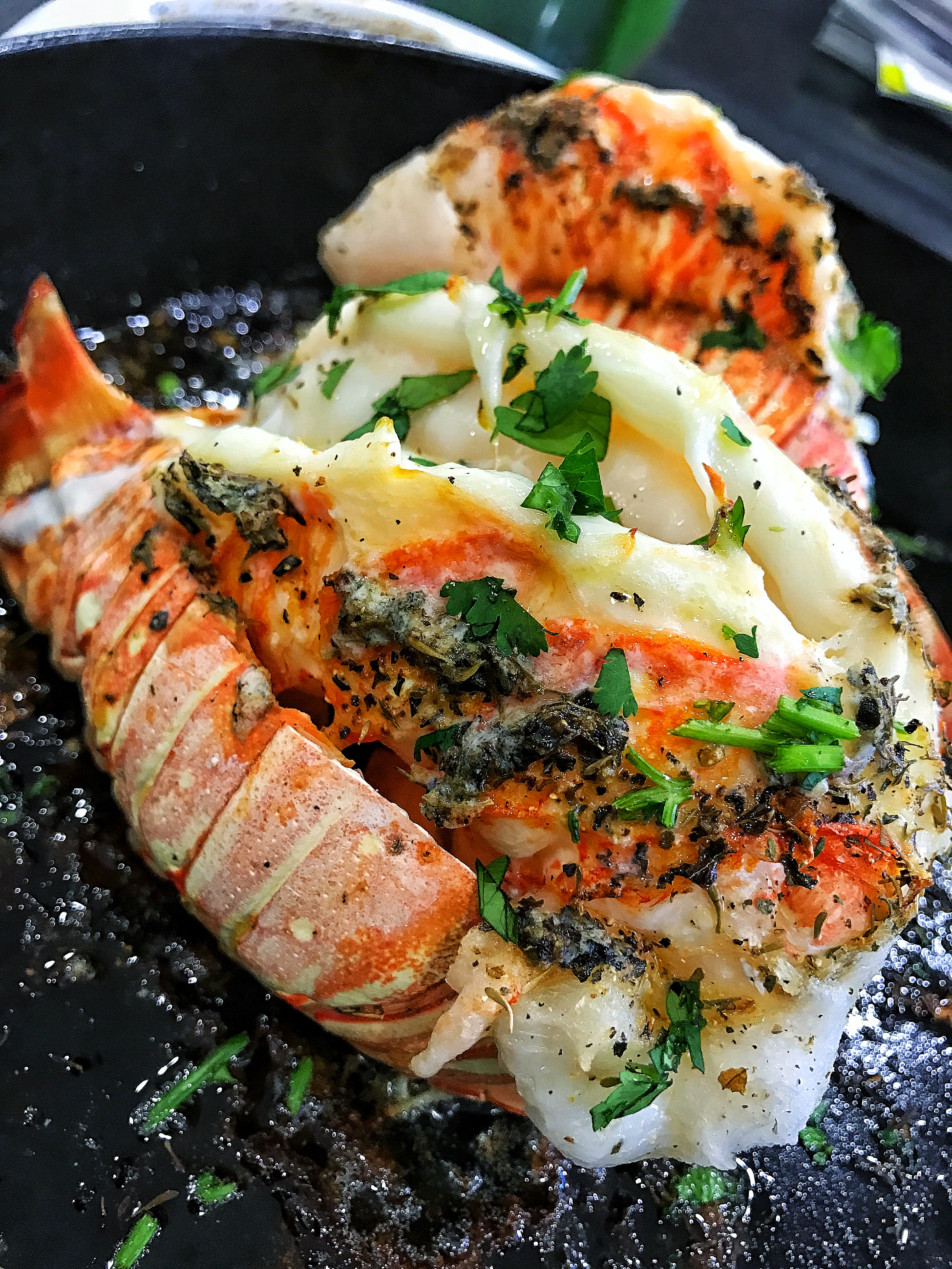 Butter & Herb Lobster Tails
