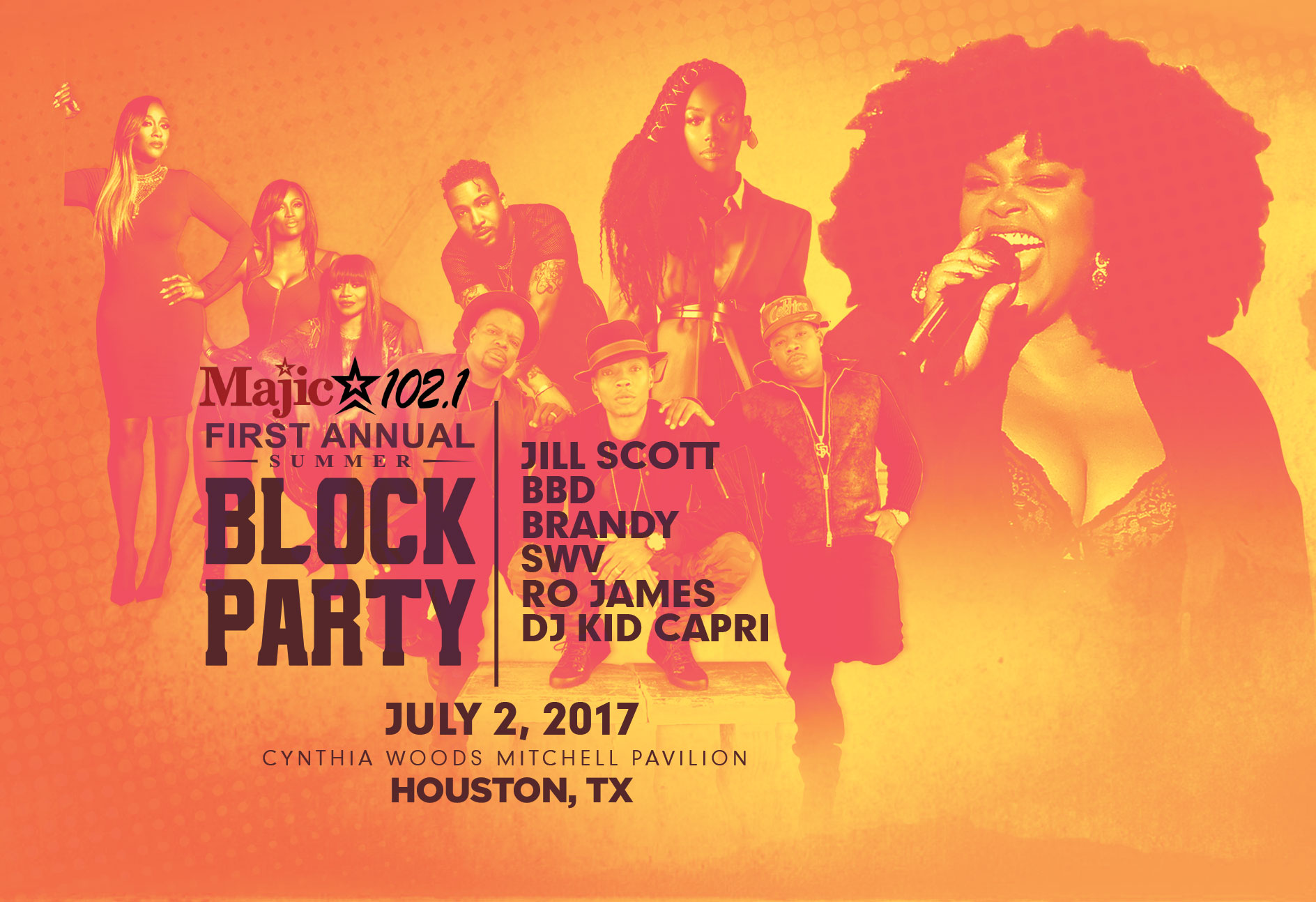 Majic Summer Block Party