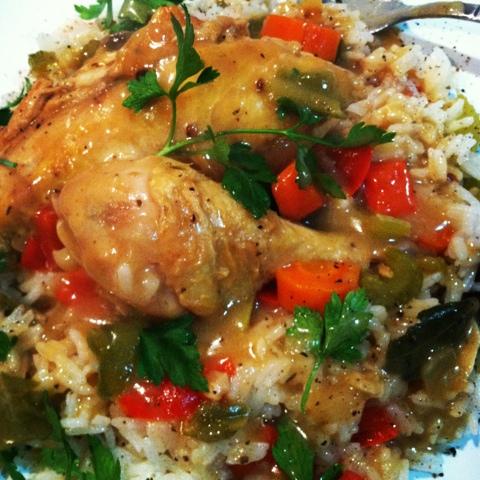 Chicken Etouffe