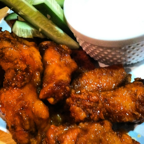 Honey Chipotle Hot Wings
