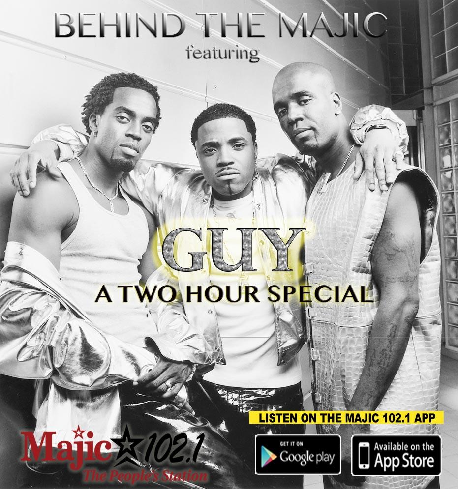 Behind The Majic | Guy
