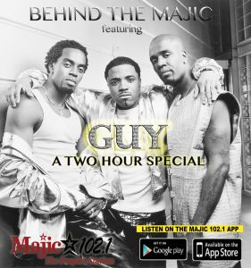 Behind The Majic | Guy