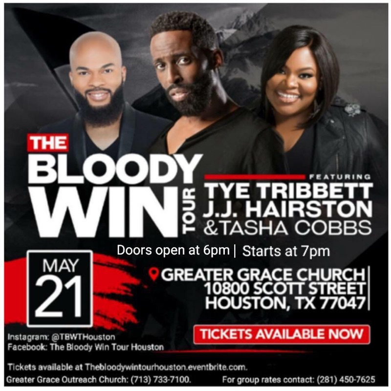 The Bloody WIN Tour @ Greater Grace | Majic 102 1