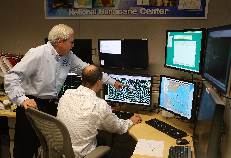 National Hurricane Center Monitors Hurricane, Forming Storm In Atlantic