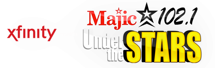 Majic Under the Stars logo