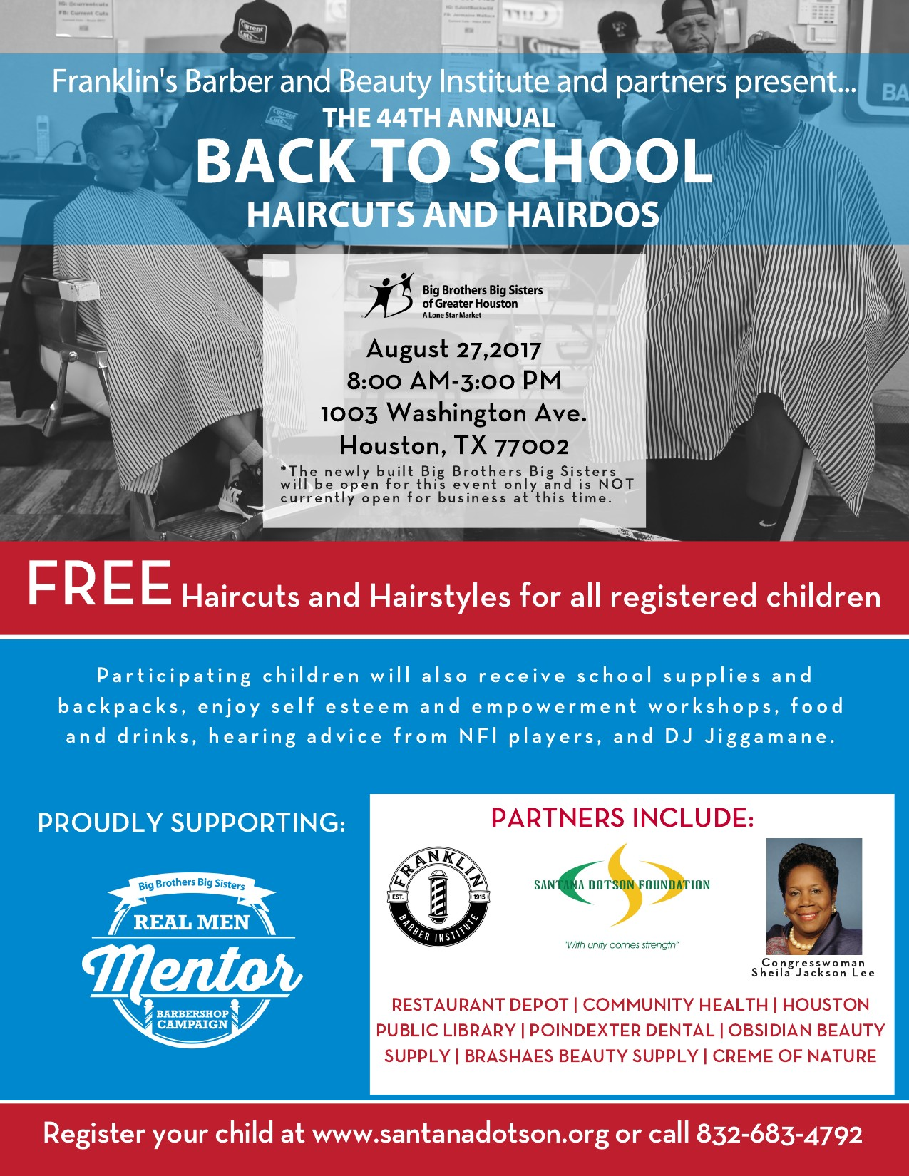 2017 44th Annual Back-To-School Haircuts and Hairdos