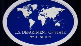 The US Department of State logo is displ