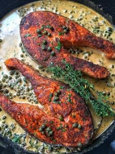 Creamy Caper Salmon